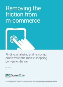 SessionCam white paper guides retailers through the  mobile conversion funnel