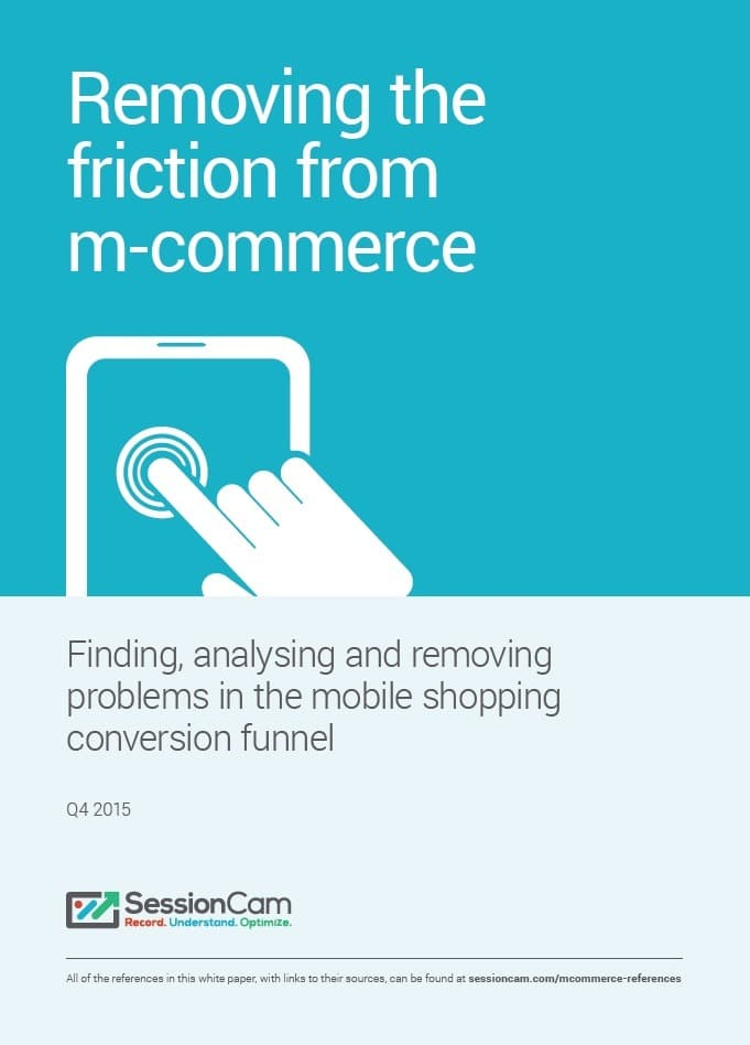 Whitepaper Cover - Removing The Friction From M-commerce