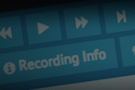 Close Up Of Recoding Info Tab From SessionCam Console