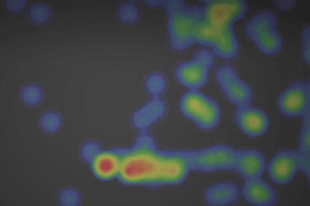 Close-up Of Heatmap