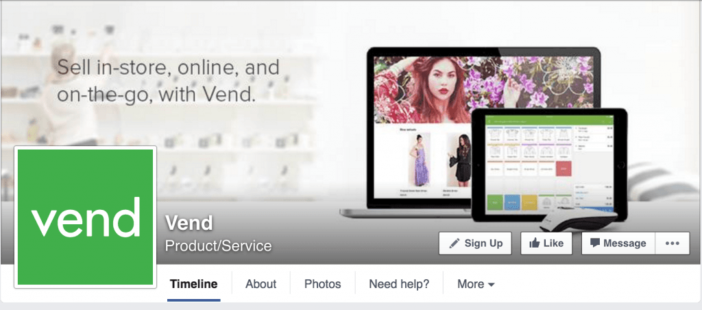 VendHQ Facebook Page