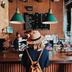 Customer in Cafe