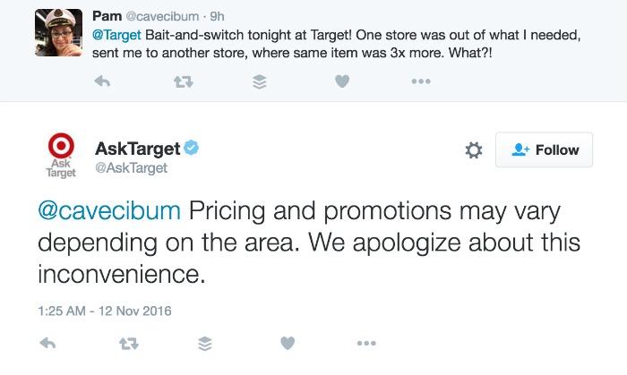 Target Twitter Conversation