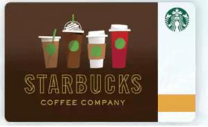 Starbuck Loyalty Card