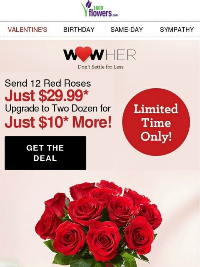 1-800 Flowers Sale Offer