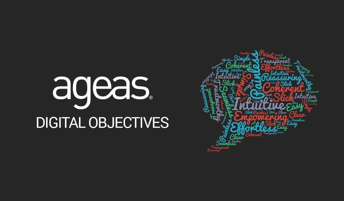 Ageas Digital Objectives