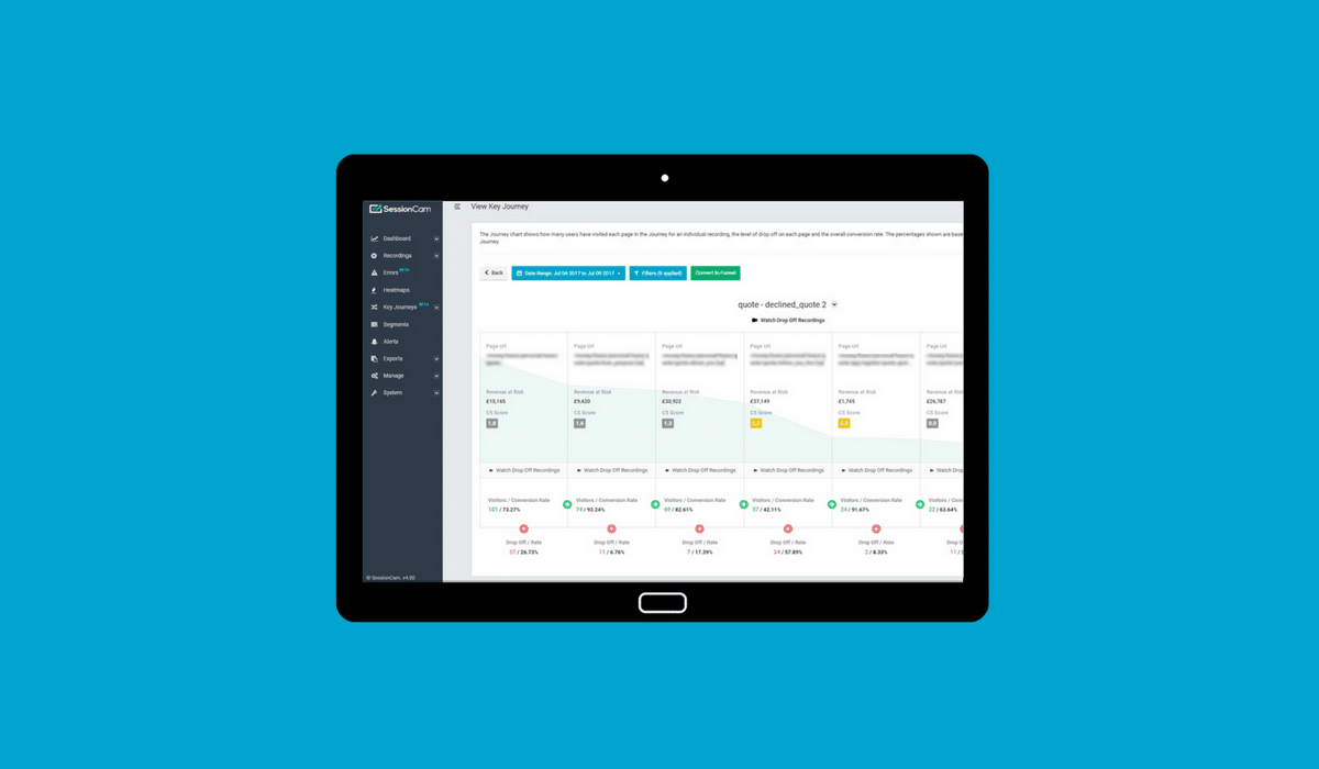 New In SessionCam: Your Most Valuable Customer Journeys Automatically Identified