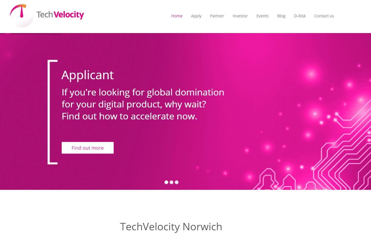 Tech Velocity Norwich Website