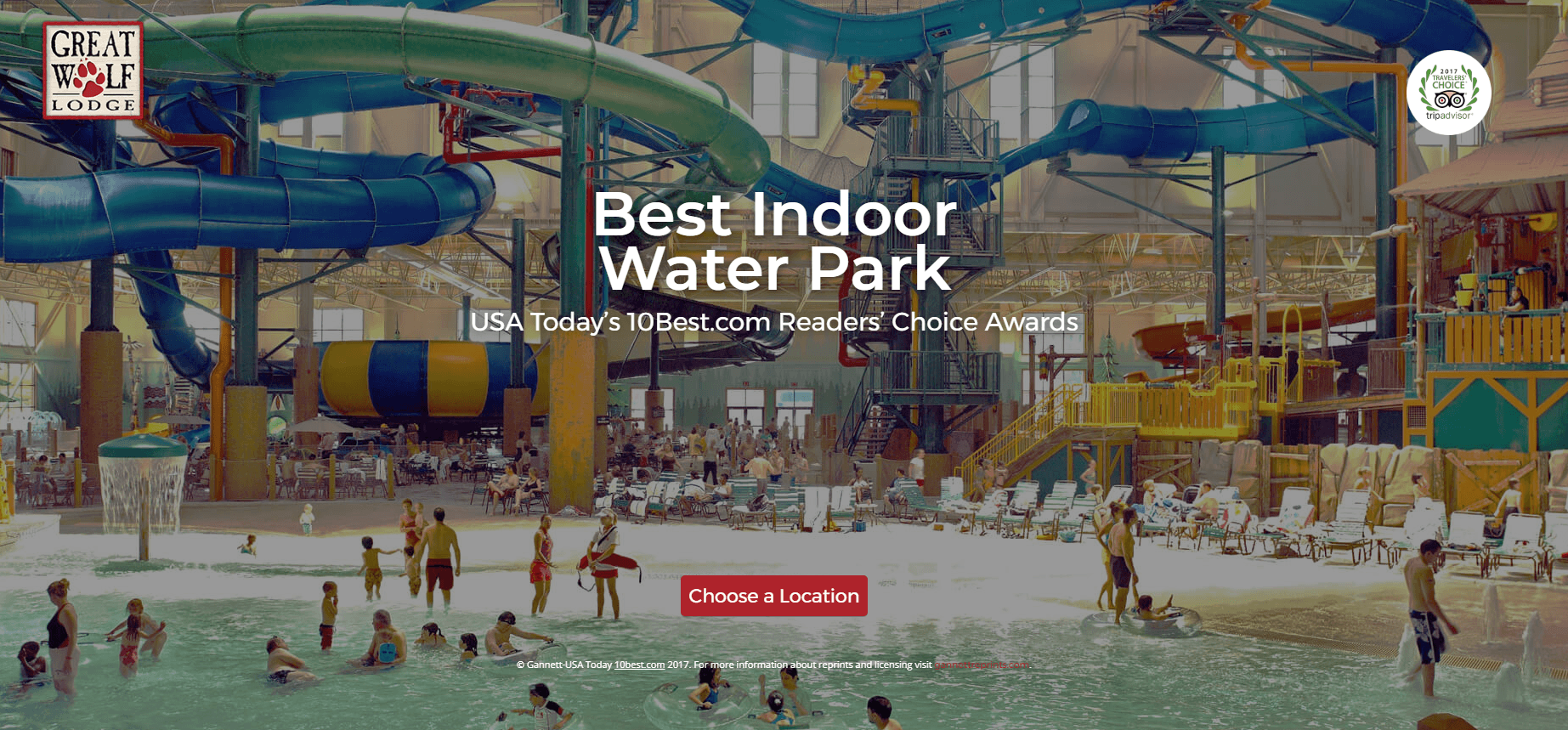 Great Wolf Resorts - Home Page