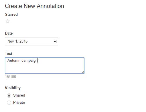 GA Create New Annotation