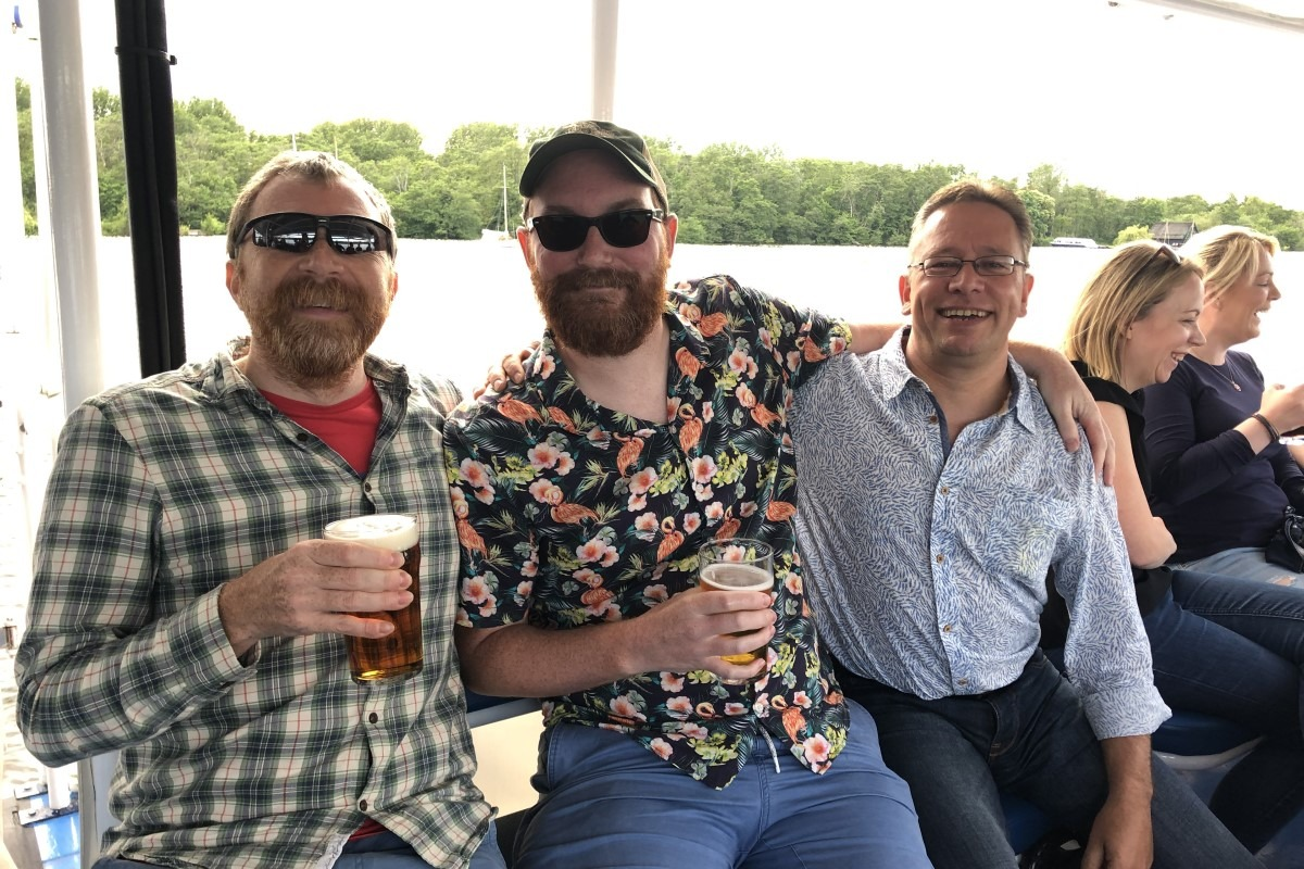 Summer Party On The Norfolk Broads