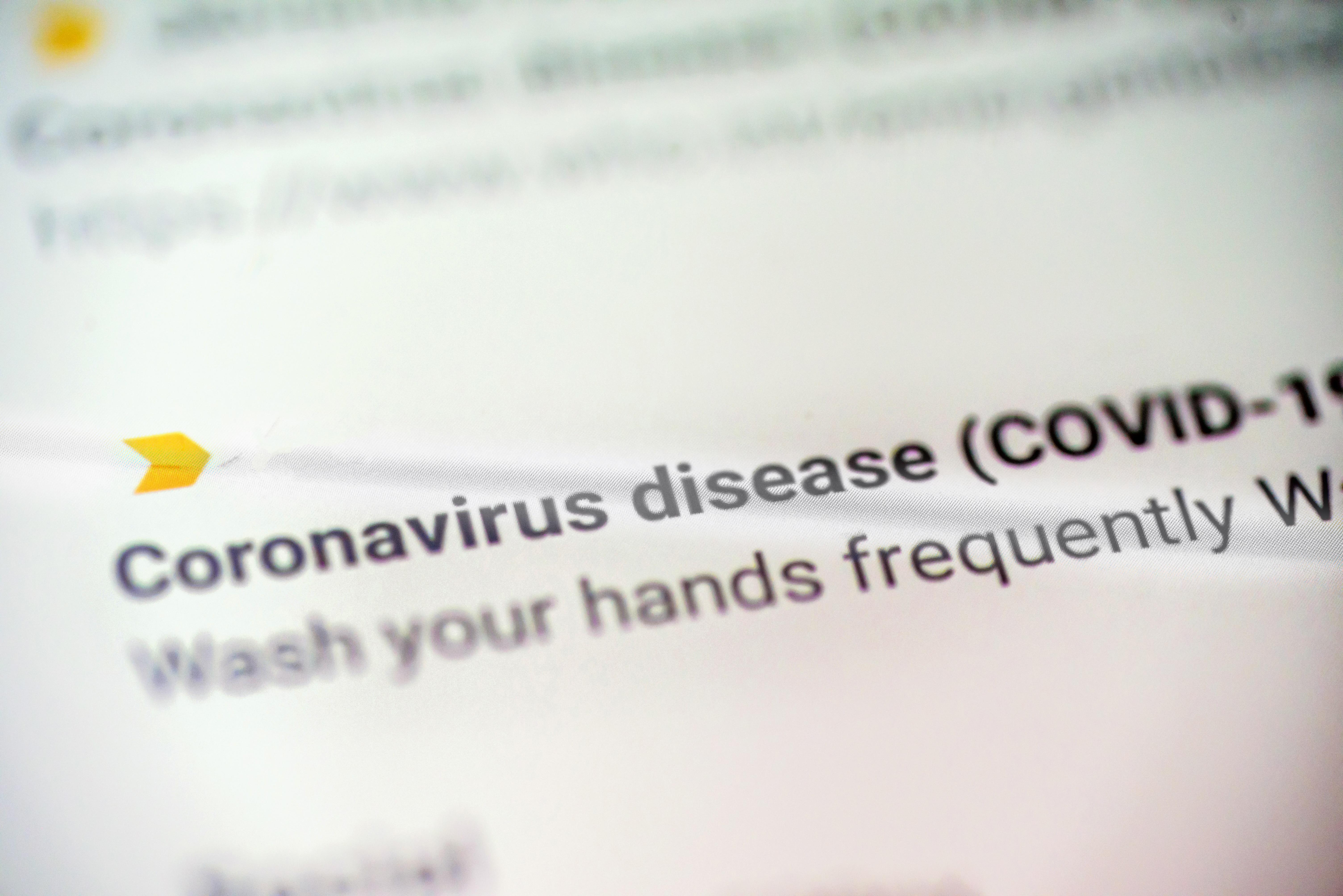 Company Update: Coronavirus
