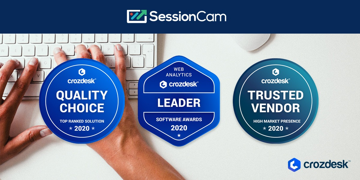SessionCam Scores A Hat-trick Of Awards